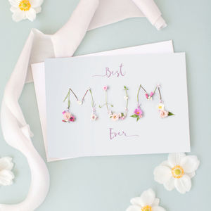 Best Mum Ever Mothers' Day Card