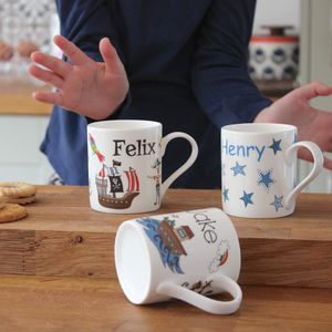 Personalised Mug For Boys - summer sale
