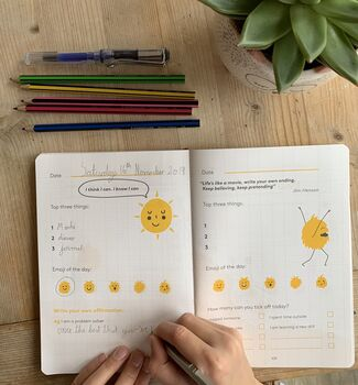 'The Happy Self Journal' Children's Gratitude Journal