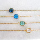 Delicate Gold Sea Hues Bracelet