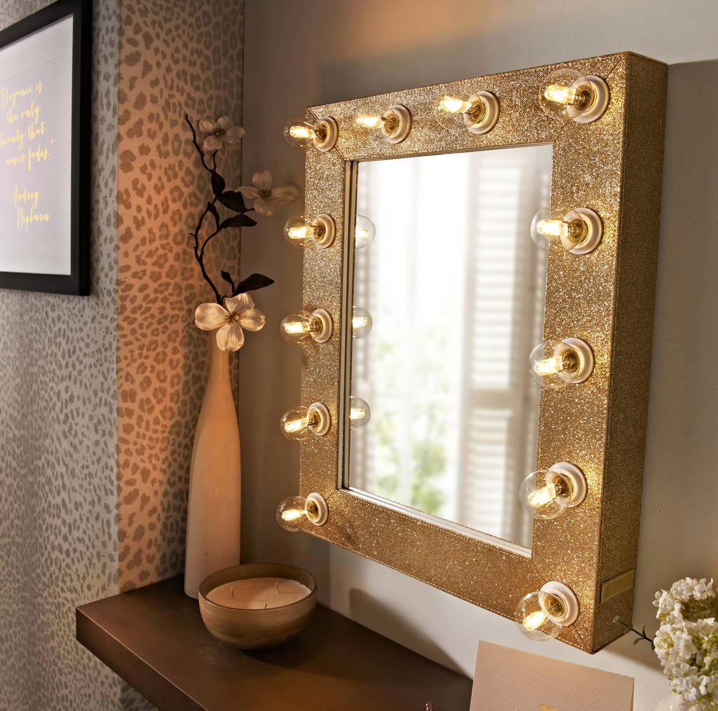 Sparkle Broadway Hollywood Mirror By Reflections Of Me