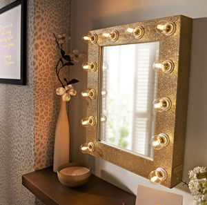 Sparkle Broadway Hollywood Mirror - decorative accessories