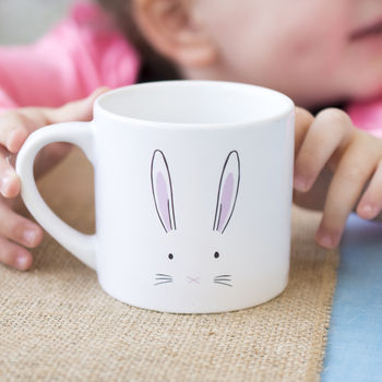 Bunny Face Children's Mini Mug