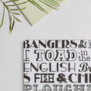 English Dinner Set Of Four Placemats