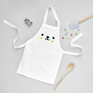 Bear Toddler Apron