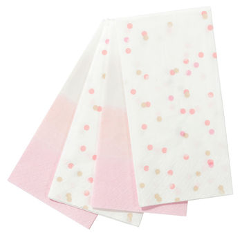 We Heart Pink Duo Napkins