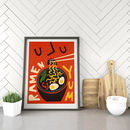 Retro Kitchen Ramen Print