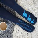 Personalised Diplodocus Dinosaur Socks