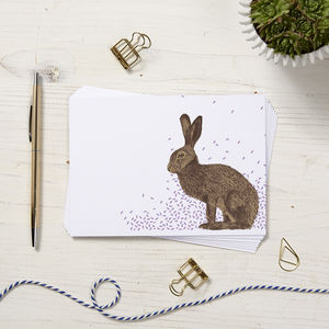 Hare Note Cards - shop by category