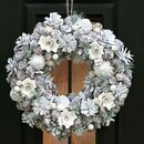 Morning Frost Hand Crafted Christmas Wreath