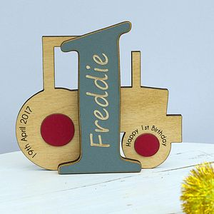 Personalised 1st Birthday Keepsake Gift