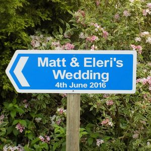 Personalised Wedding Sign - decorative accessories