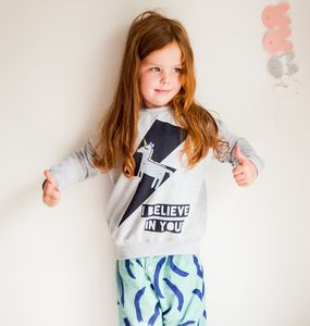 Child's Unicorn Sweatshirt - children's shirts & blouses