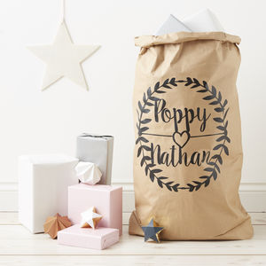 Personalised Wedding Gift Sack - room decorations