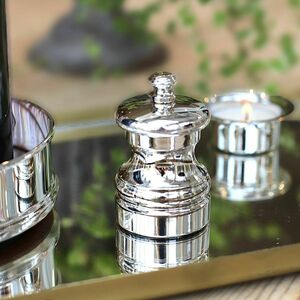 Sterling Silver Capstan Peppermill
