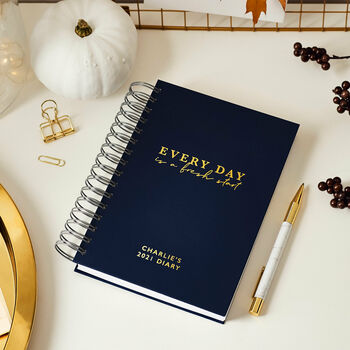 Personalised Fresh Start 2021 Daily Diary