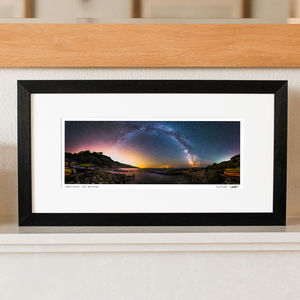 'Galactic Rainbow' 360 Degree View Milky Way Print - photography & portraits
