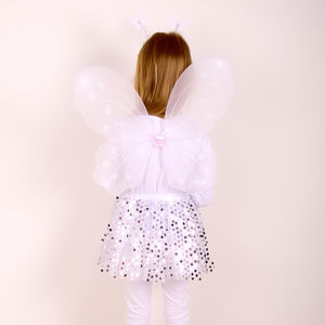 Angel Sparkle Tutu Set With Wings - pretend play & dressing up