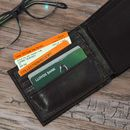 Personalised Brown Wallet For Men