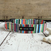 Joseph Striped Dog Collar - pets