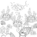 Ocean Colouring Book