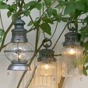 Vintage Style Electric Lantern - table lamps