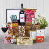 Food and drink hamper gifts notonthehighstreet luxurious gift hamper with red wine hampers negle Gallery