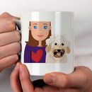 Personalised 'Dog Mum' Gift Mug