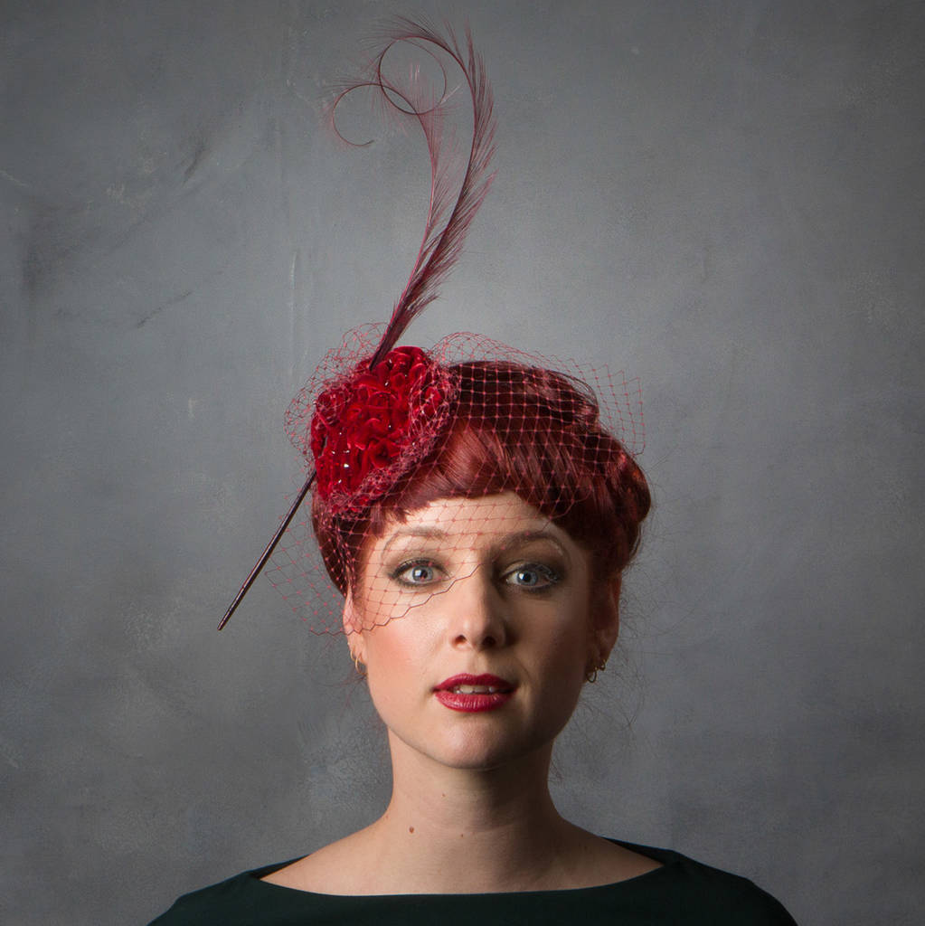 hats & fascinators | notonthehighstreet.com