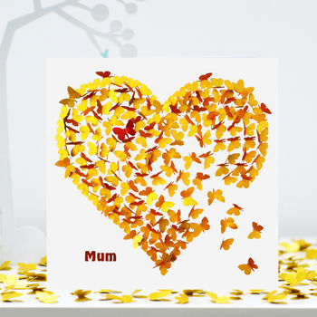 Mum Youve Got A Heart Of Gold Card, Mum Birthday Card