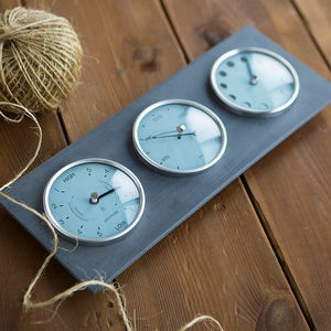 Moon, Tide, Barometer Dial - gifts for grandmas