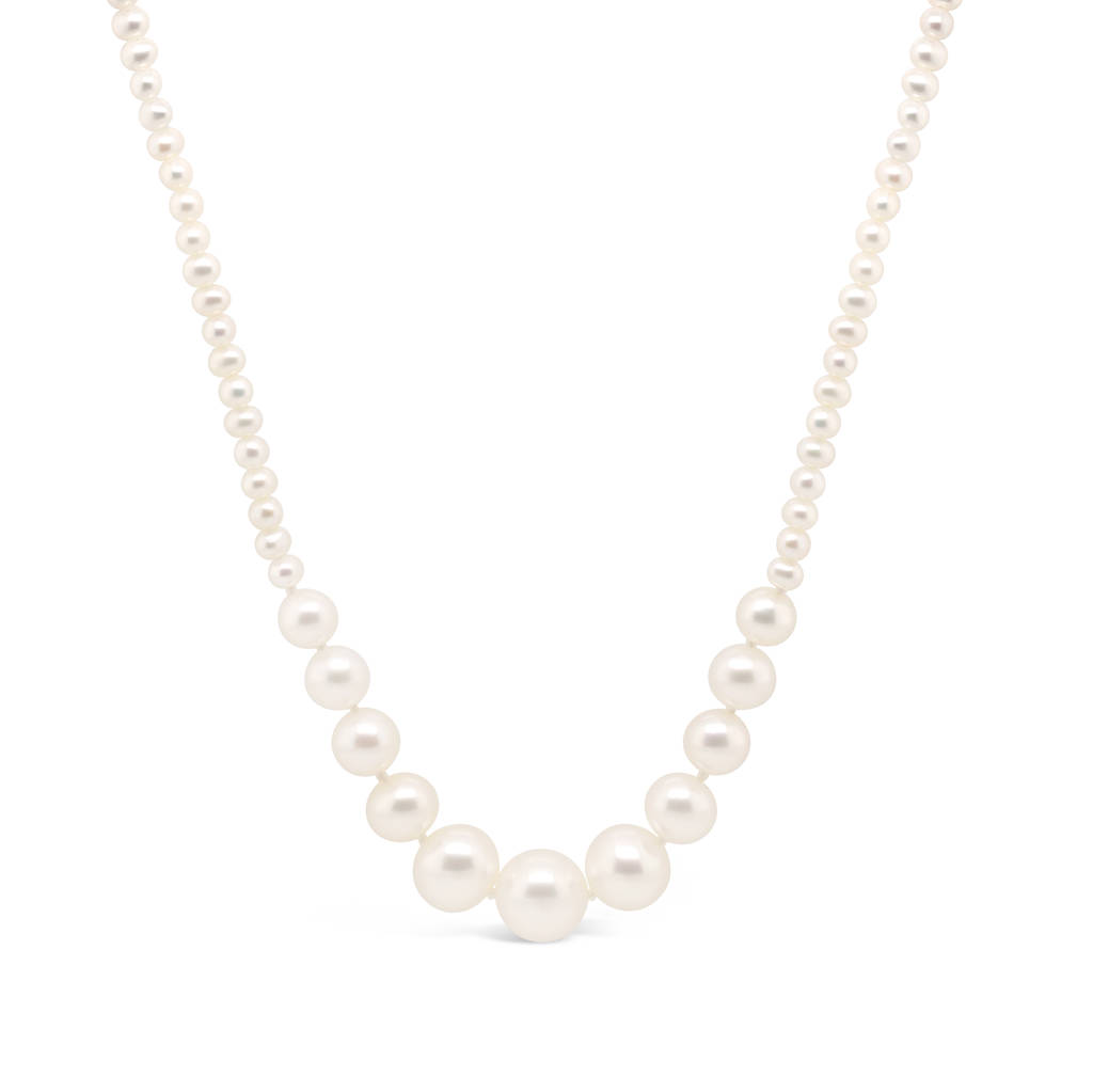akoya pearl aaa necklace japanese black quality