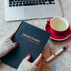 'Dear Diary 2018' Inspirational Planner - 2018 diaries