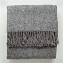Grey Wool Throw