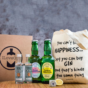 The Ultimate Gin Lovers Gift Set - personalised