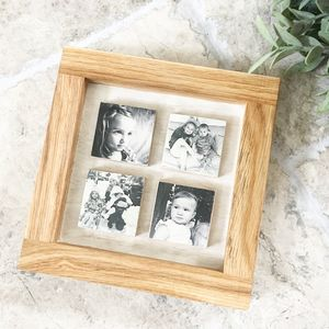 Solid Oak Photo Frame