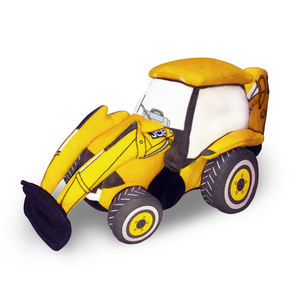 Jcb Backhoe Digger 3D Soft Toy