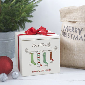 Family Christmas Eve Box - gift boxes