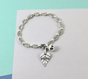 Leaf Friendship Bracelet With Bell Charm - what's new