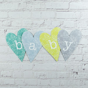 Baby Heart Decoration
