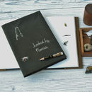Personalised 'Hooked By' Fishing Journal
