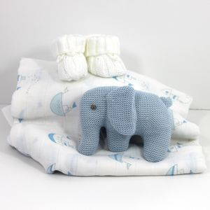Baby Boy Elephant Bundle - new baby gifts