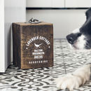 Personalised Wood Doorstop
