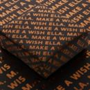 Personalised Any Text Luxury Wrapping Paper