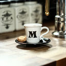 Personalised Espresso Cup And Saucer