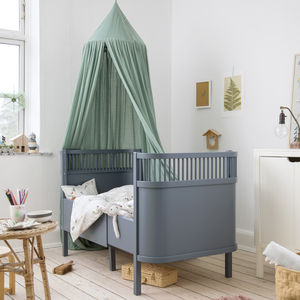 Dark Grey Baby And Junior Bed - beds