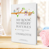 Nursery Rhymes And Personalised Poems Book - christening