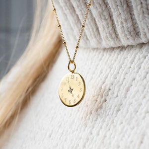 Bespoke Time Necklace - gifts for her