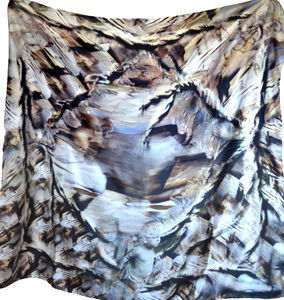 Consolation Square Silk Scarf
