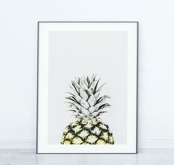 Pineapple Tropical Scandinavian Print